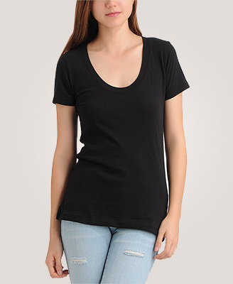 Forever 21 Fab Scoop Neck Tee