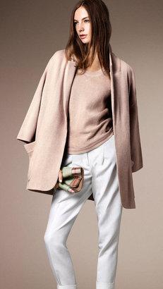 Burberry Bonded Cashmere Alpaca Cardigan Jacket