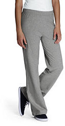 Lands' End Women's Yoga Pants-Stone Gray