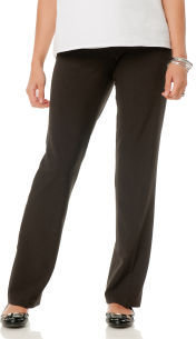 Motherhood Secret Fit Belly® Bi-stretch Suiting Straight Leg Maternity Pants