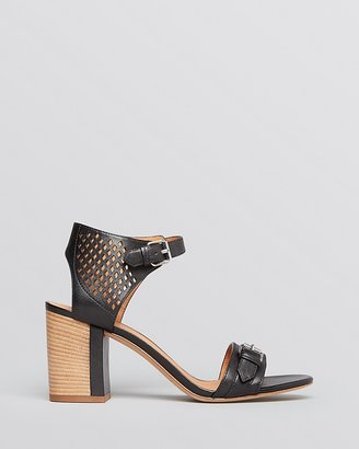 Marc by Marc Jacobs Block Heel Ankle Strap Sandals