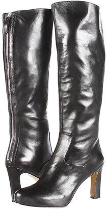 Nine West Number One (Black Leather) - Footwear