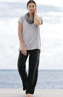J. Jill Pure Jill cap-sleeve easy tee