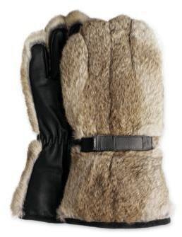Johnston & Murphy Oversized Rabbit Gloves