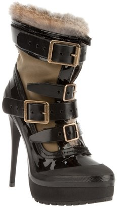 Burberry London Spike heel boot