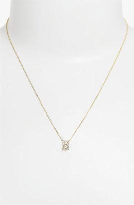 Nadri Boxed Initial Pendant Necklace