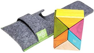 Green Baby Tegu Pocket Pouch Prism Tints Magnetic Blocks (6 pc)