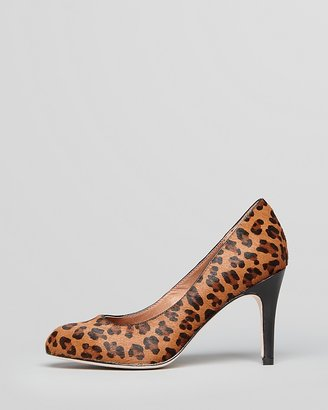 Corso Como Pumps - Del-A Leopard Calf Hair High Heel