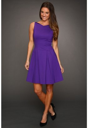 Elie Tahari Jessy Dress (Purple Rain) - Apparel