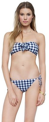 Juicy Couture Gingham Style String Bottom