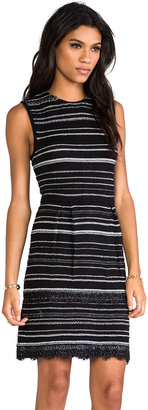 Nanette Lepore Mademoiselle Knit Decadence Shift Dress