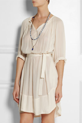 Etoile Isabel Marant Milly brushed-crepe dress