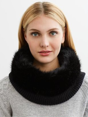 Banana Republic Faux-fur neck warmer