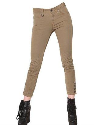 Burberry Brixton Denim Stretch Cropped Jeans