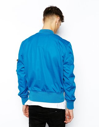 Alpha Industries MA1 Bomber Jacket in Soft Shell