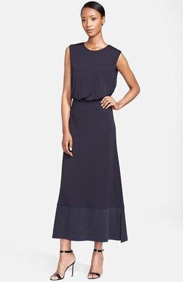 Max Mara 'Pegaso' Jersey Maxi Dress