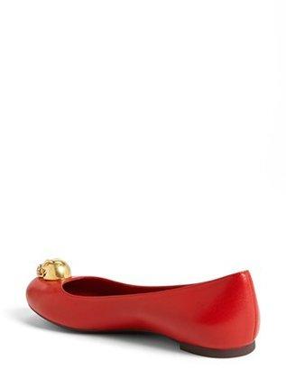 Alexander McQueen 'Skull' Ballet Flat