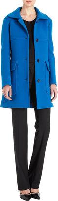 Derek Lam Wide Collar Belted Back Coat