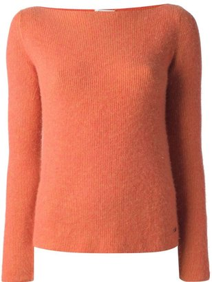 Chanel boat neck sweater
