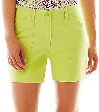 Liz Claiborne Twill Cargo Shorts