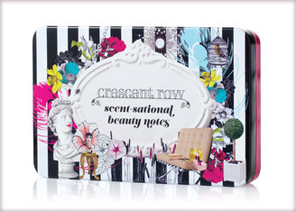 Benefit Crescent Row Stationery Tin scent-sational beauty notes and tin