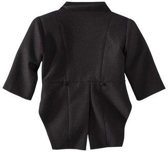 Infant Boys' Authentic Tux with Tails - Black