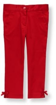 Janie and Jack Bow Sateen Pant