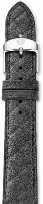 Michele Quilted Leather Watch Strap, 20mm