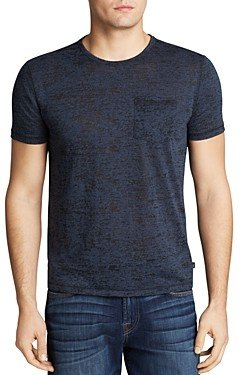 John Varvatos Usa Short Sleeve Burnout Tee