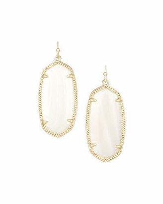 Kendra Scott Elle Earrings, Mother-of-Pearl $55 thestylecure.com