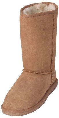 Brumby shearling flat sole boots - women