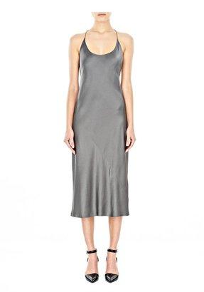 Alexander Wang Silk Satin Slip Dress