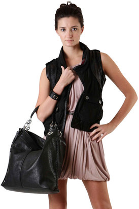 Rotten Bananas Lotus Leather Hooded Vest