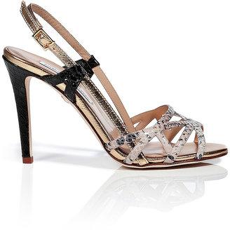 Diane von Furstenberg Leather Upton Sandals