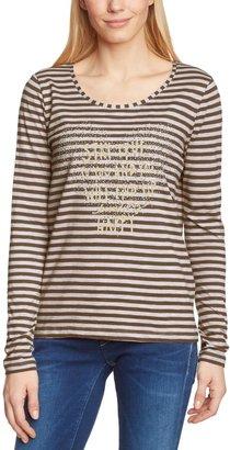 More & More Women'S Long-Sleeved Top - Multicoloured - Mehrfarbig (Original 945) - 10 (Brand Size: Herstellergroe: 36)