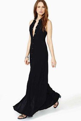 Nasty Gal Conquest Maxi Dress - Black