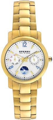 Sperry Watch, Women's Grayson Gold Ion-Plated Stainless Steel Bracelet 34mm 102056