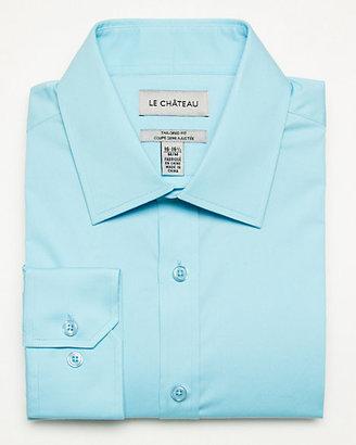 Le Château Stretch Poplin Tailored Fit Shirt