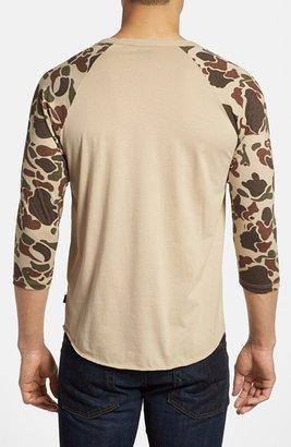 Obey 'Camo' Baseball T-Shirt