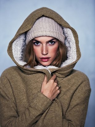 Free People Of The Flock Hooded Jacket