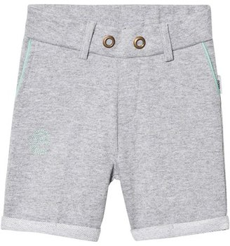 eBBe Kids Grey Melange Saros Sweat Chinos Shorts