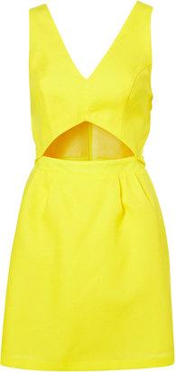 Topshop Cut Out Sun Dress