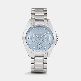 Coach Tristen Stainless Steel Color Dial Bracelet Watch