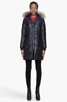 Canada Goose Black quilted down Kensington coat