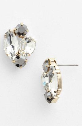 Stephan & Co Rhinestone Stud Earrings