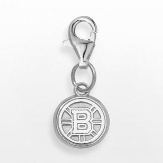Logoart LogoArt Boston Bruins Sterling Silver Logo Charm