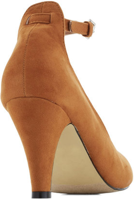 Anywhere You Jaunt Heel in Camel