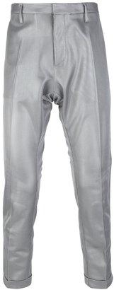 DSquared Dsquared2 metallic short tailored trouser