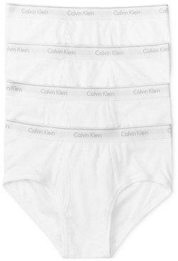Calvin Klein Men's 4-Pk. Cotton Classics Briefs U4000