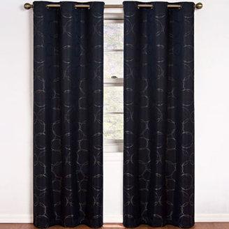 Eclipse Meridian Grommet-Top Blackout Curtain Panel
